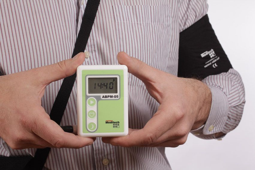 24-hour blood pressure Holter